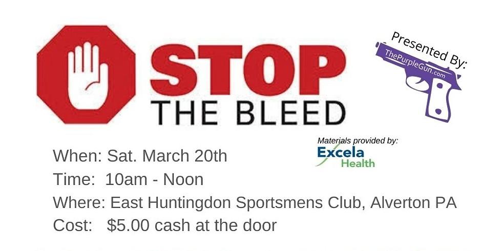 Stop The Bleed @ EHSC / AG&AG