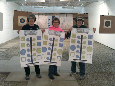 Mim, Marsha & Diane.  We did it!   Our first quarterly match. Woot-woot!