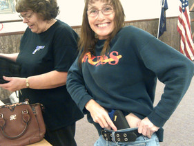 Dawn testing IWB holster placement