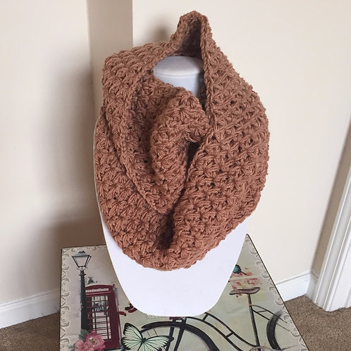 Infinity Scarf | Brown Sugar