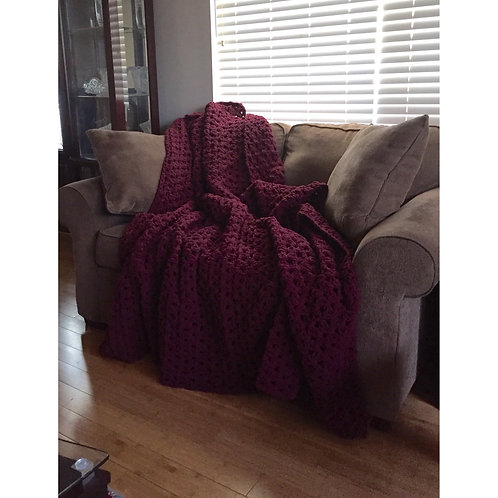 Wine | Grandma Throw Blanket