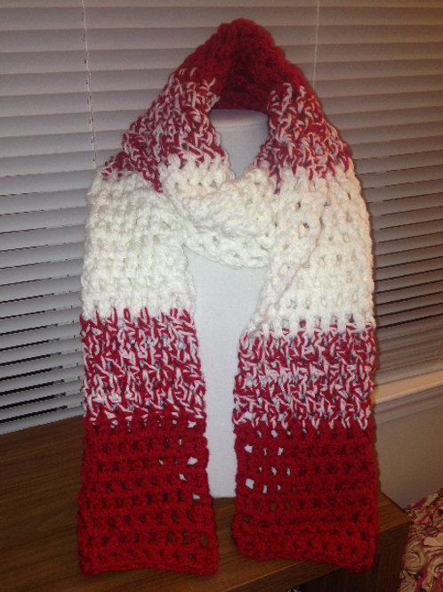 Standard Scarf | Crimson & White