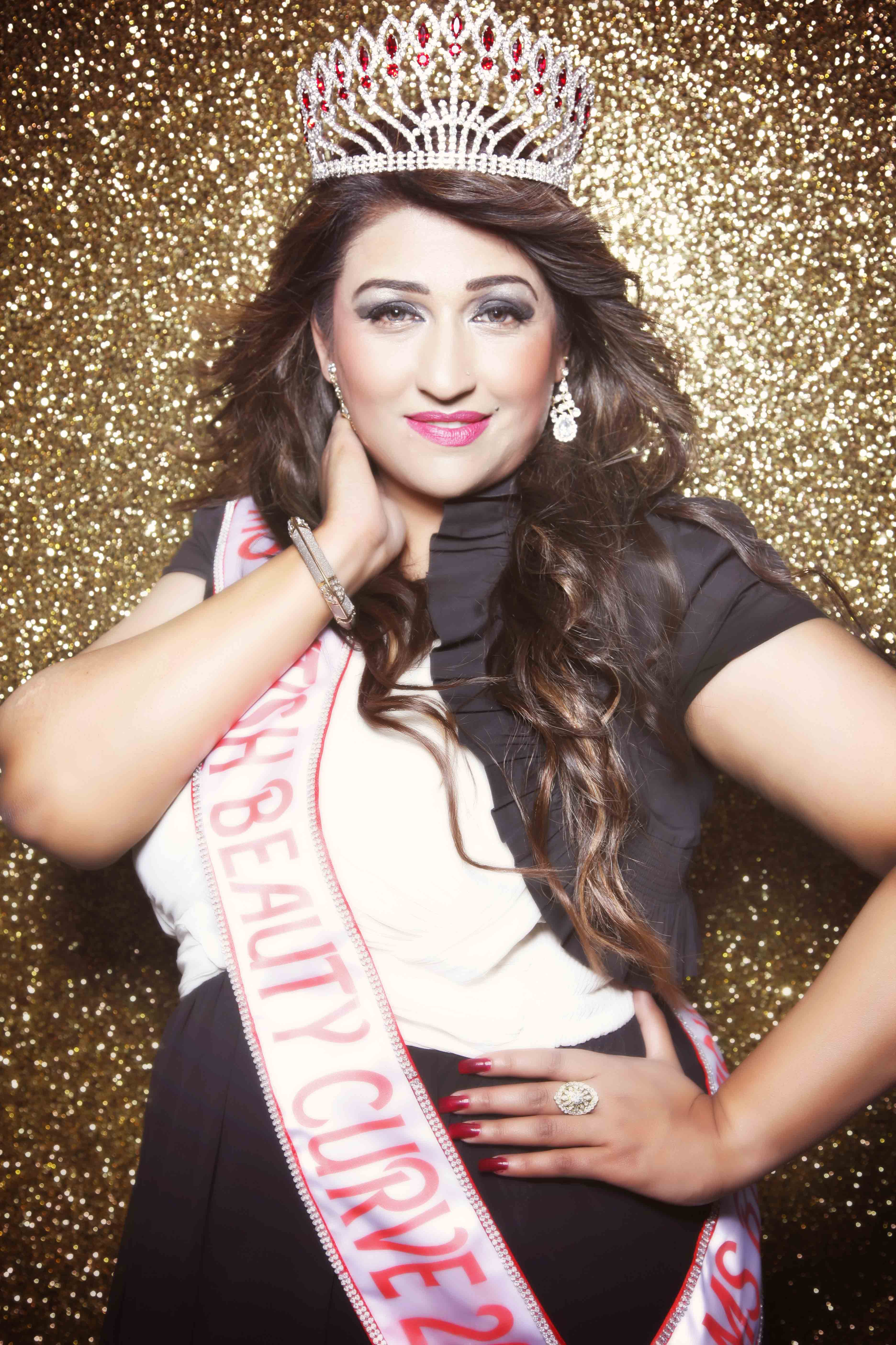 Ms British Beauty Curve 2013