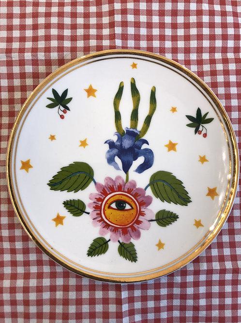 Piattino - BITOSSI - fiore occhio