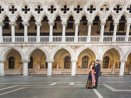 BHAVIKA &KETAN   PRE WEDDING SHOOT   VENICE