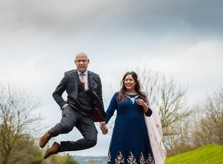 Shameen & Ishmail  PRE WEDDING SHOOT   Nutfield Priory Hotel & Spa