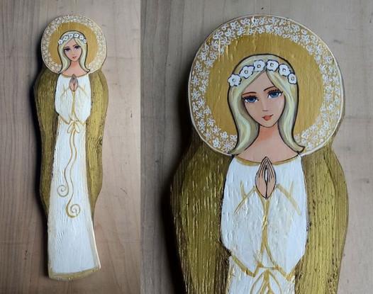 Anioł na Chrzest Komunię 8