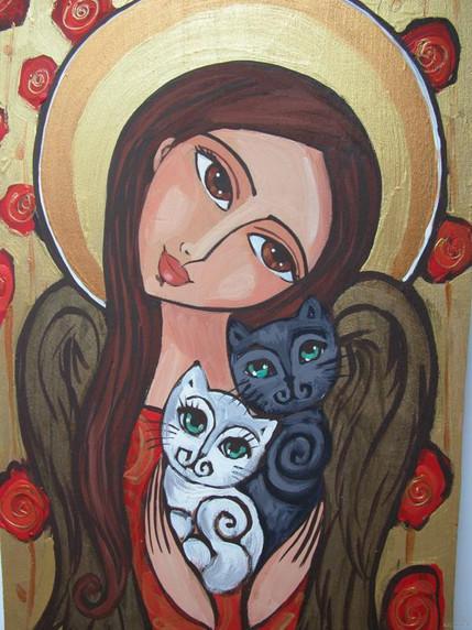 Anioł i Koty 24