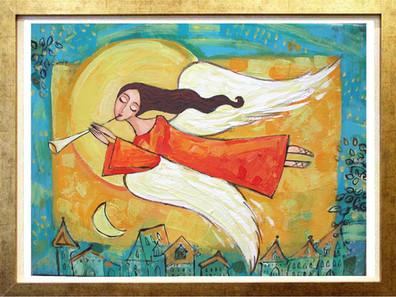 Anioł na Miastem 1
