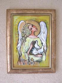 Anioł z Gołąbkami 2
