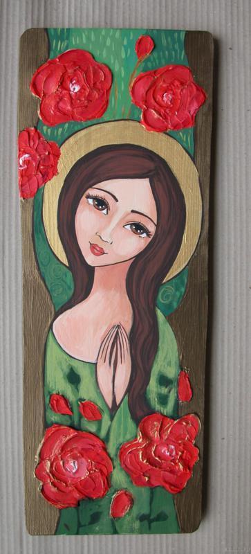 Anioł z Kwiatami 8