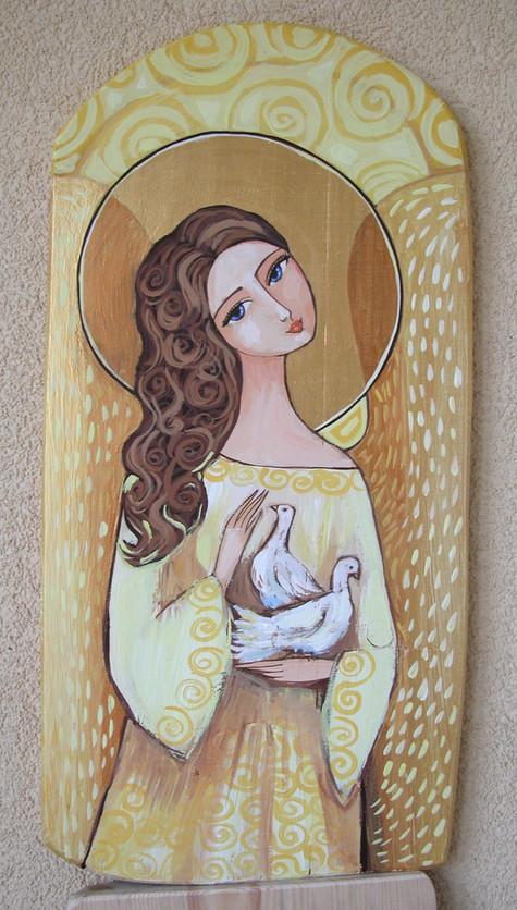 Anioł z Gołąbkami 4