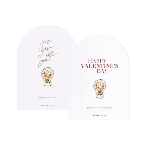 2021 Floral Pin V'Day Postcard