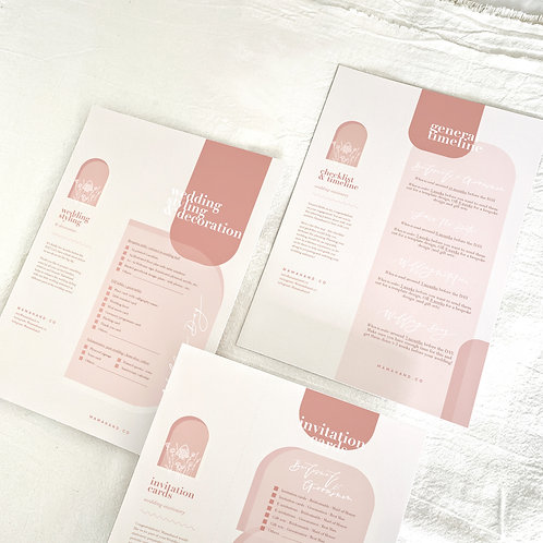 2021 Wedding Stationery Checklist