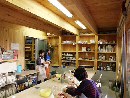 陶芸教室の家