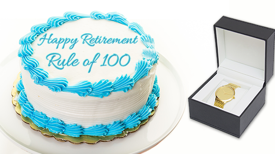 "IS IT TIME TO RETIRE THE ""RULE OF 100""?"