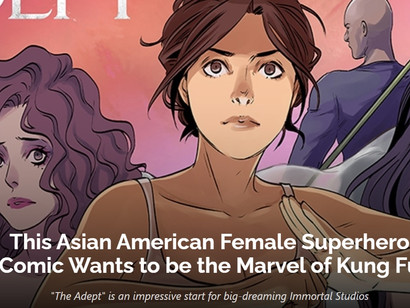 """""""This Asian American Female Superhero Comic Wants to be the Marvel of Kung Fu"""""""
