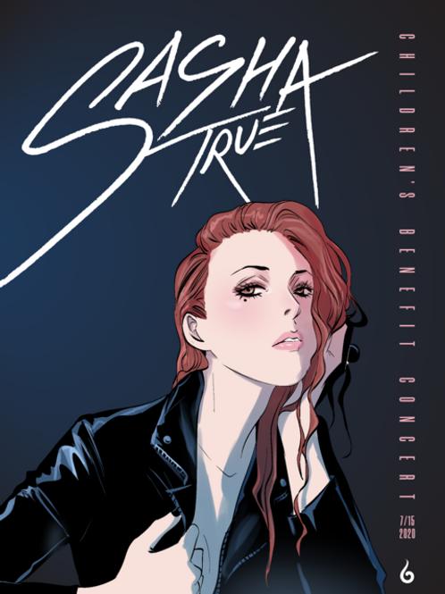 Sasha True Concert Poster