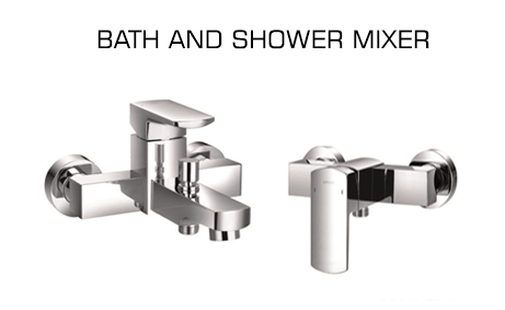 BATH AND SHOWER MIXER