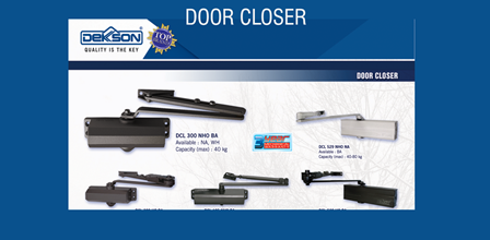 door closer dekkson