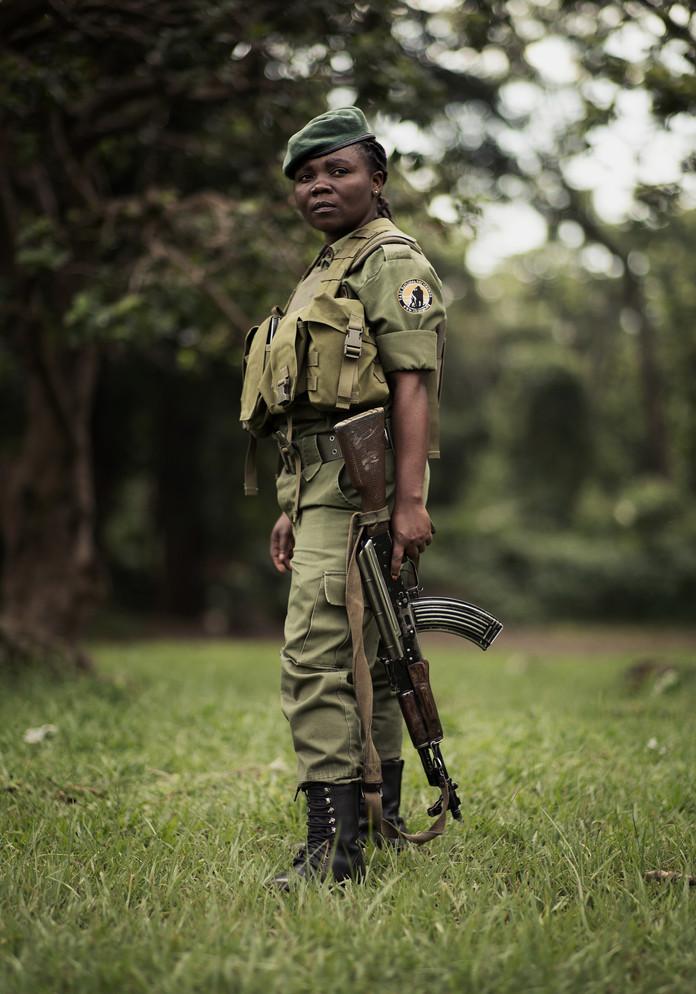 042 Female ranger stood.JPG