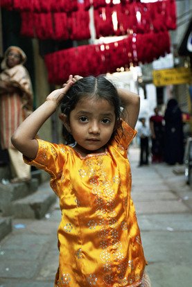 Muslim Girl (Gold dress).jpg