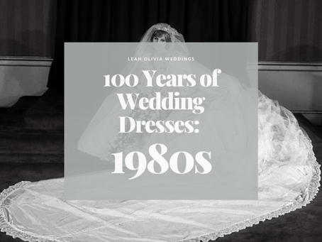 100 Years of Wedding Dresses: 1980s