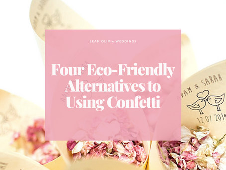 Four Eco-Friendly Alternatives to Using Confetti
