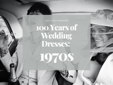 100 Years of Wedding Dresses: 1970s
