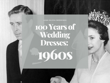 100 Years of Wedding Dresses: 1960s