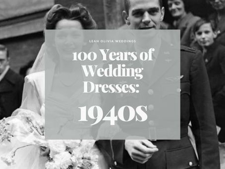 100 Years of Wedding Dresses: 1940s