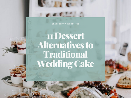 11 Dessert Alternatives to Traditional Wedding Cake
