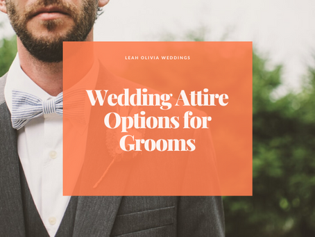 Wedding Attire Options for Grooms
