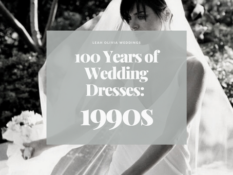100 Years of Wedding Dresses: 1990s