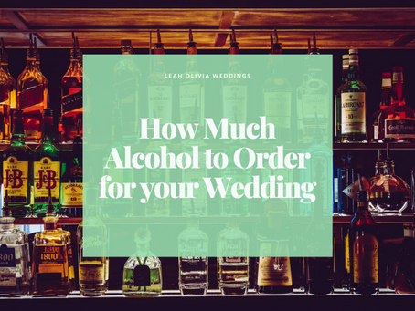 How Much Alcohol to Order for your Wedding