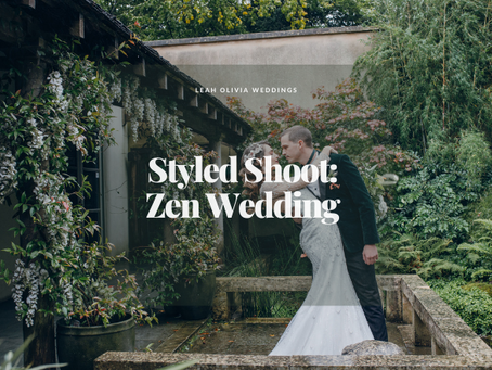 Zen Wedding Featured on B.LOVED Blog