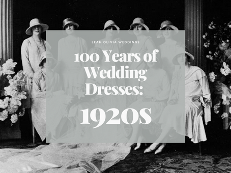 100 Years of Wedding Dresses: 1920s