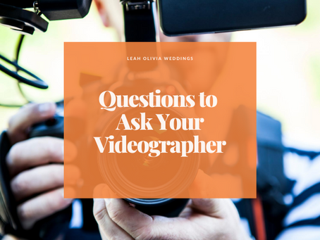 Questions to Ask Your Videographer