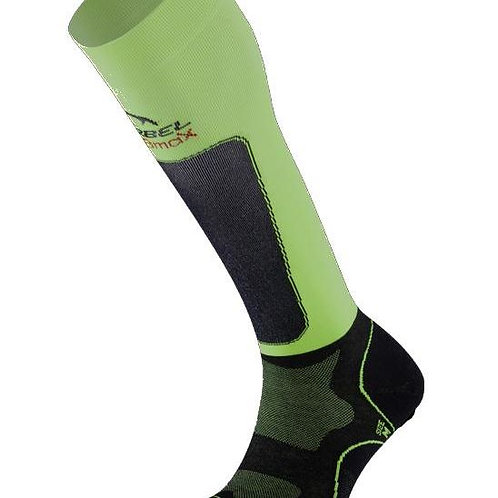 Lurbel Medias Compresivas Trail Plus Black / Pistachio
