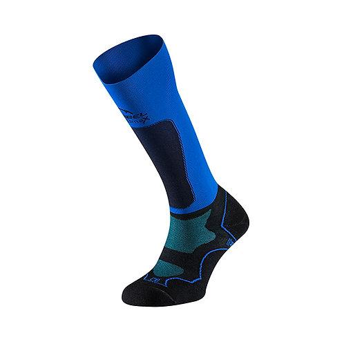 Lurbel Media de Compresión Trail Plus Black/Royal Blue