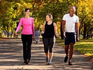 Caminar también es entrenar