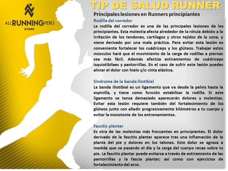 Lesiones en Runners Principiantes