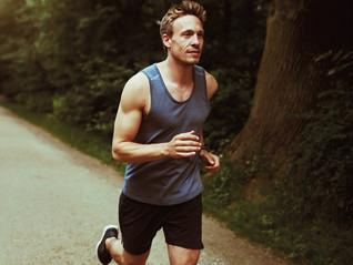 Correr relajado. Súper importante para los corredores.
