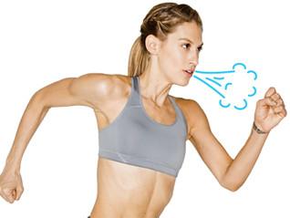 Respirar bien cuando corres