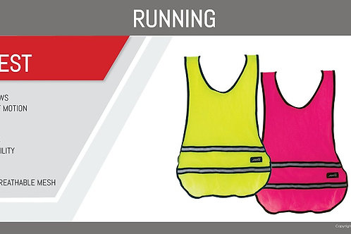 Pink Avia Runner's Safety Vest