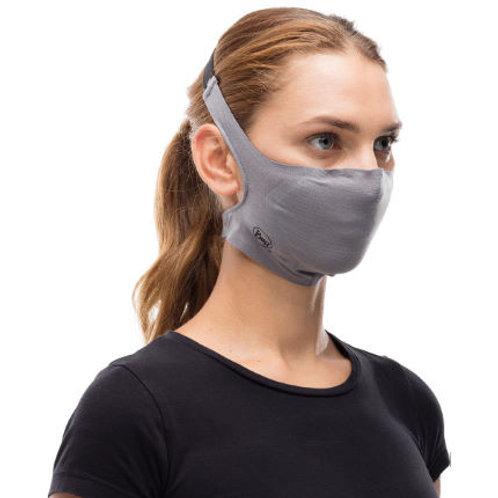 Buff Filtered Mask Solid Grey Sedona