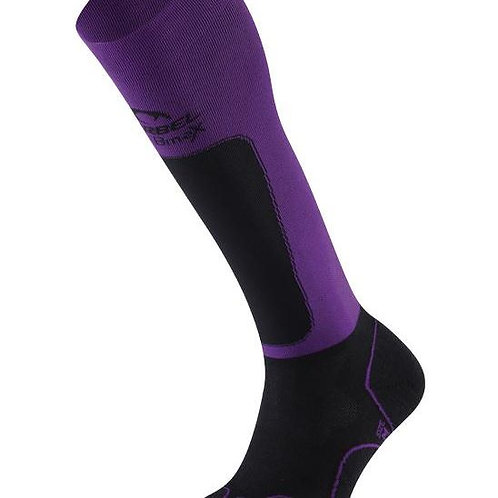 Lurbel Medias Compresivas Trail Plus W Black / Purple