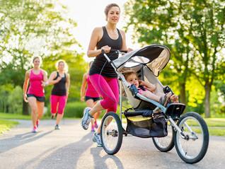 Cómo correr empujando del carrito de tu bebé