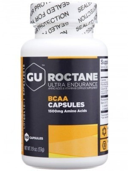 Gu Roctane BCAA 60 Cápsulas