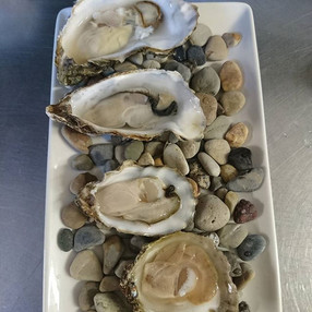 Today's #oyster #tasting #plate differan